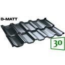 Moduļu metāldakstiņš BudMat VENECJA D-Matt 30*
